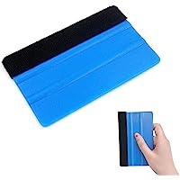 Tomedeks Plastic Vilt Edge Squeegee - Auto Squeegee Decal Soft Vinyl Wrap Window Tint Application Tool - Zachte Vilt…