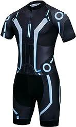 logas Cool Tron Pro Cycling Jersey Bib Shorts Kit Short Sleeved Trisuit  Triathlon Race Suit 4be668da0
