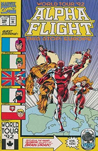 Alpha Flight (1st Series) #108 VF/NM ; Marvel comic book