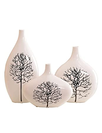 Amazon Com Gjm Shop Ceramic Vase Handicrafts Home Decoration Living