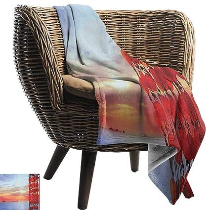 Amazon.com: Josepsh Beach,Weave Pattern Extra Long Blanket ...