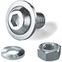 Tornillos de cabeza plana ISO 7380-2 M3x8