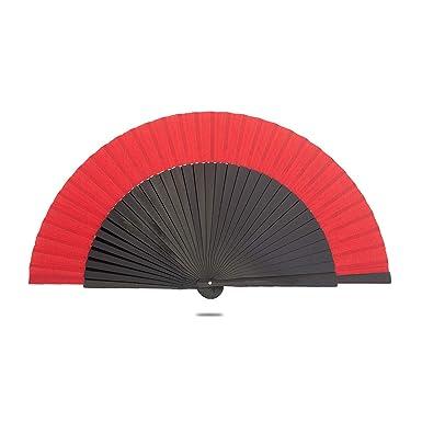 Amazon.com: Ole Ole Flamenco Ventilador de Mano Negro con ...