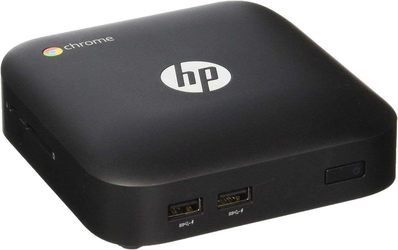 HP Chromebox PC Desktop Mini Computer, Intel Celeron 2955U 1.4GHz, 2G DDR3, 16G SSD, Chrome OS(Renewed)