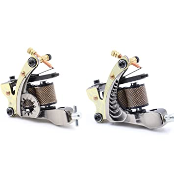 Amazon.com: Coil Tattoo Machine Gun Kit - CINRA Coil Steel Tattoo ...