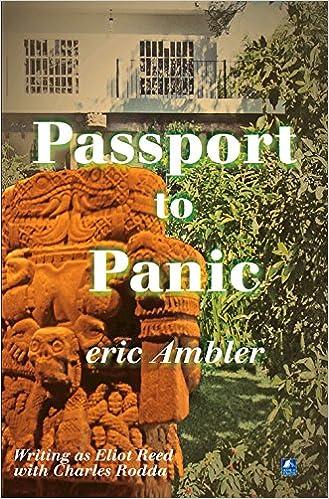 Passport To Panic: Amazon co uk: Eric Ambler: 9780755125401