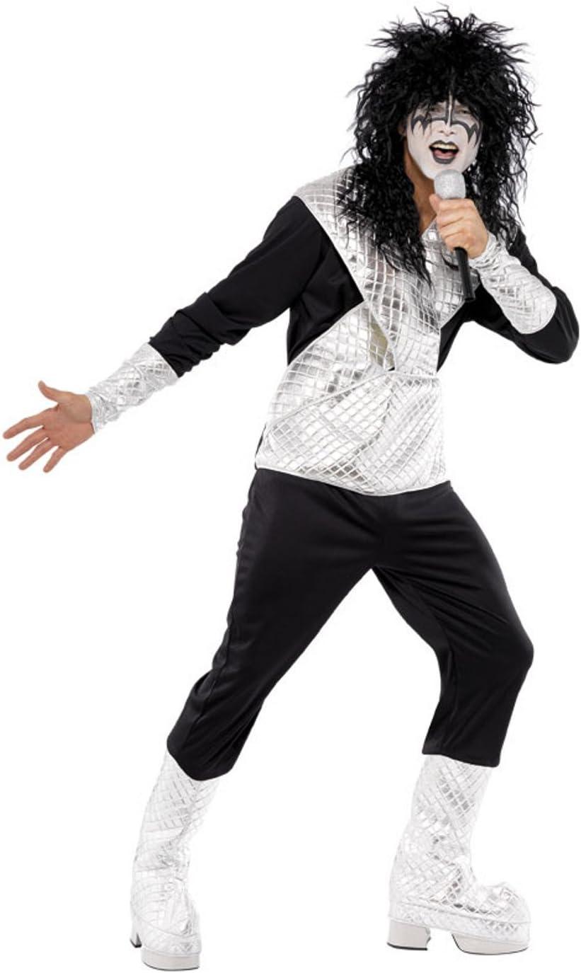 Smiffys - Disfraz de rockero para hombre, talla L (UK 42-44 ...