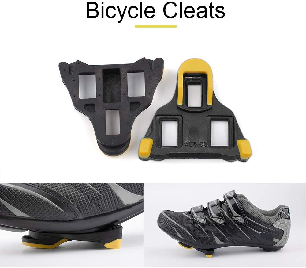 HoypeyfiyBicycle Cleats Paire de Crampons de v/élo autobloquants pour Shimano SH51