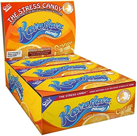 Kava Stress Candy - 1 case (12 individual packs)