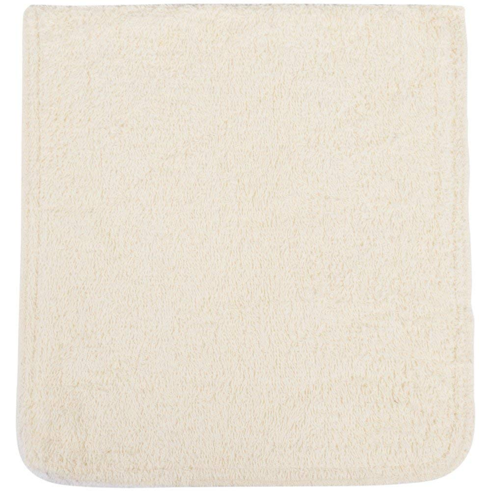 TableTop King 10'' x 11'' White Terry Cloth Pot Holder/Pan Grabber