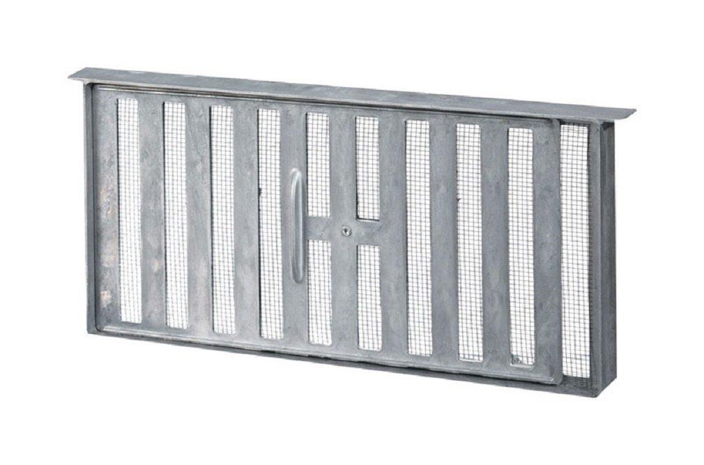 Air Vent 86159 Aluminum Foundation Vent, 16'' X 8''