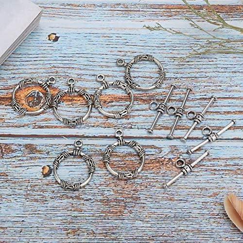 Vintage stijl legering Toggle gesp voor DIY sieraden maken