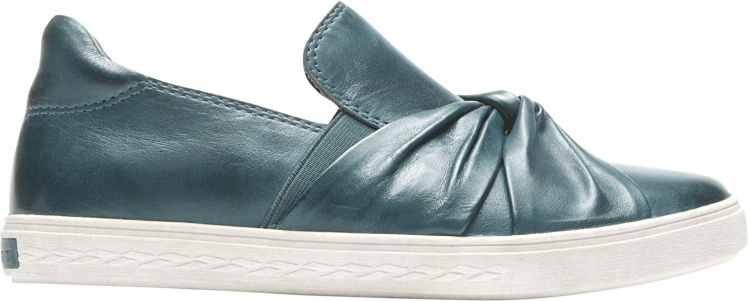 Cobb Hill Women's Willa Bow Slipon Sneaker Leather B01MV3WCWB 8 M US|Teal Leather Sneaker a5e08c