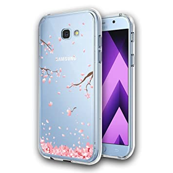 sale retailer 8868d 35e65 Samsung A5 2017 Phone Case [Crystal Clear], AILRINNI Slim Soft Silicone Gel  Case [Drop Protection], Best Rubber Shockproof Bumper Protective Case ...