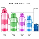 HoneyHolly Portable Sports Water Bottle-Leak