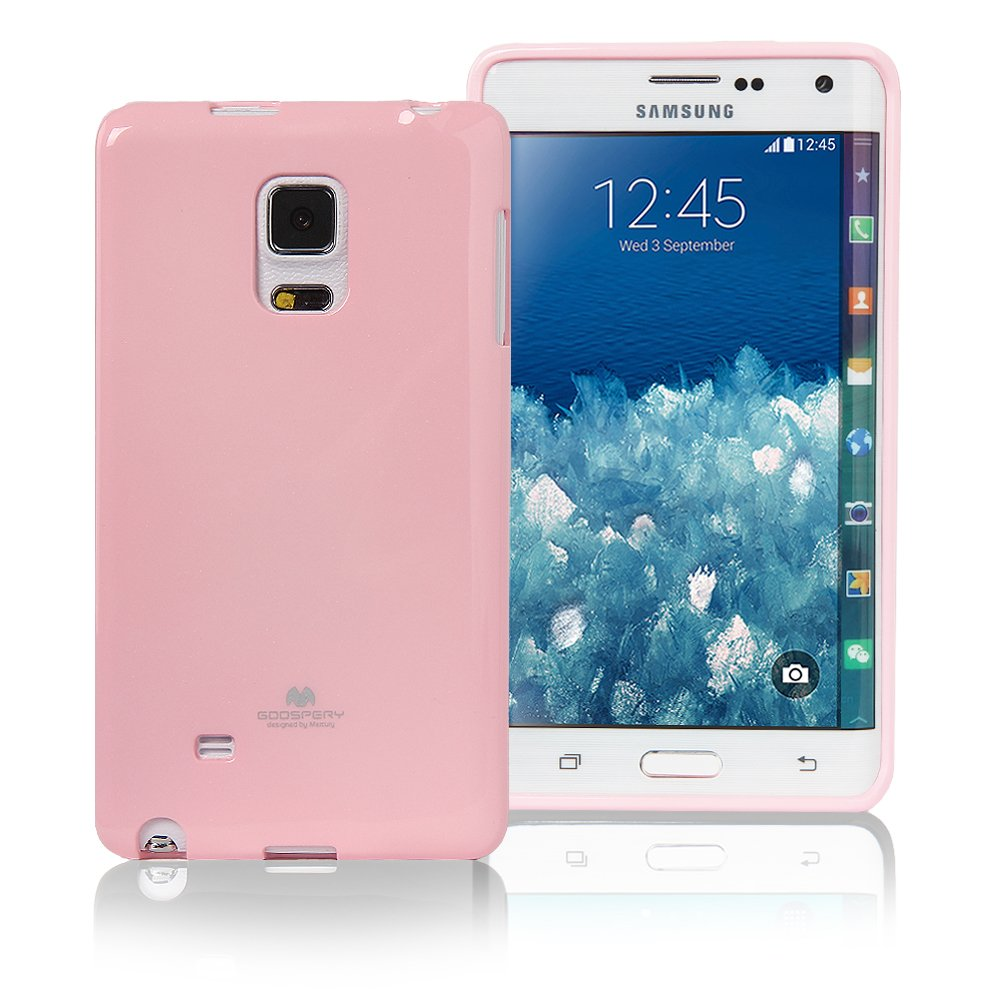 Galaxy Note Edge Case Ultra Slim Fit Goospery 4 Samsung 9 N960 Pearl Jelly Color Caseslight Glitter Anti Yellowing Discoloring