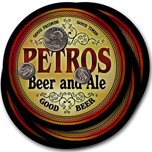Petrosビール& Ale – 4パックドリンクコースター   B003QXAN0A