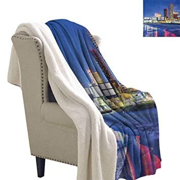 Cool Amazon Com Suchashome City Super Soft Blanket For Coach Alphanode Cool Chair Designs And Ideas Alphanodeonline