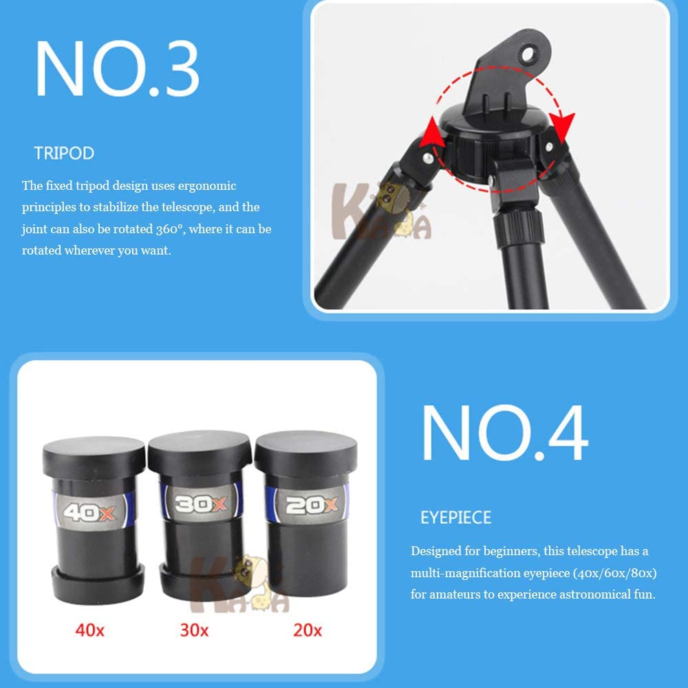 DDSGG Telescope for Kids,Spotting Scope for Kids Beginners,with Adjustable Tripod,for adults//outdoor birding//travelling//sightseeing//hunting//birdwatching