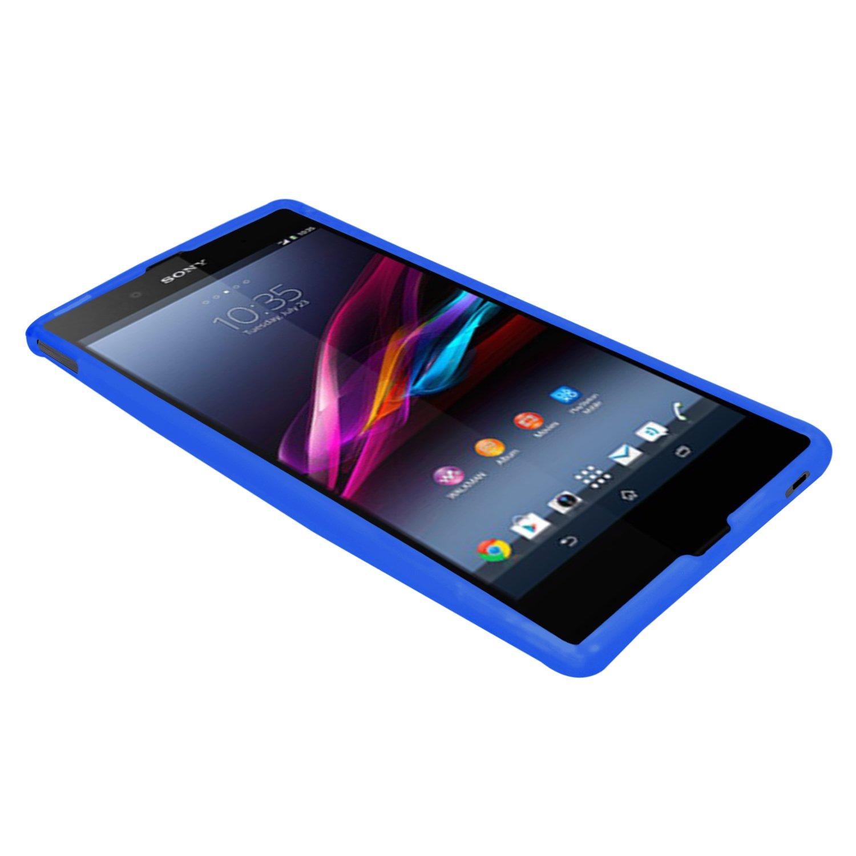 Samrick - Carcasa para Sony Xperia Z Ultra C6802, C6806 y C6833 (hidrogel, protector de pantalla, gamuza de microfibra y lápiz capacitivo): Amazon.es: ...