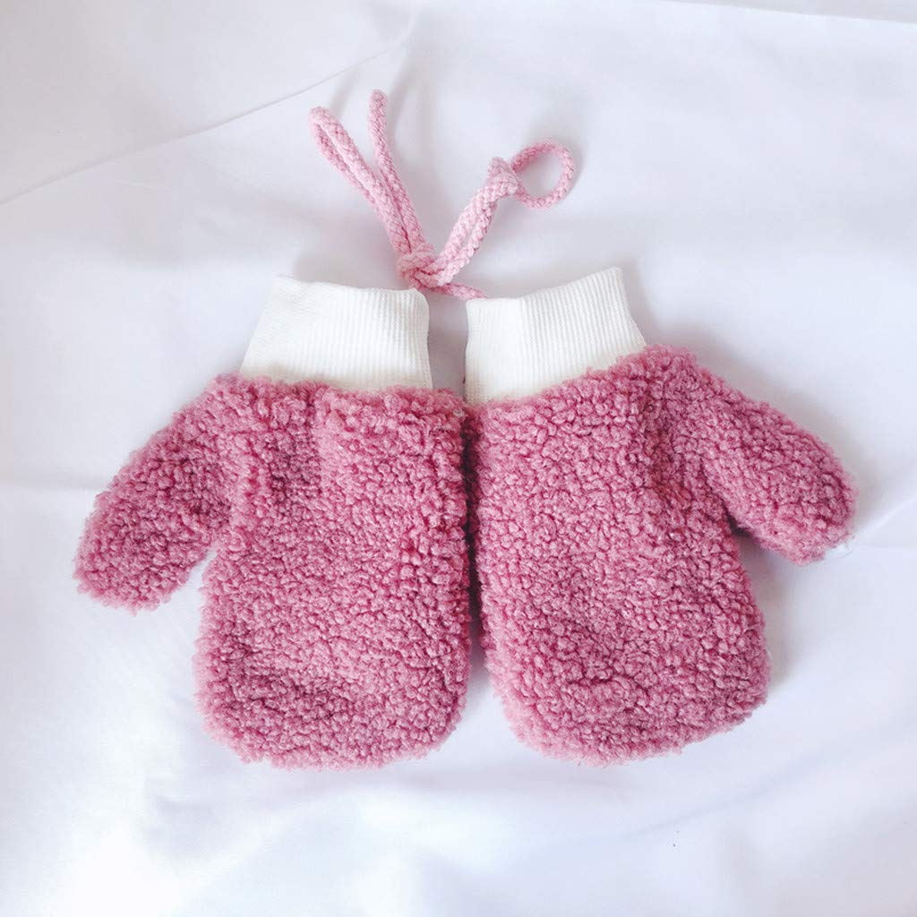 Muamaly Neugeborenes Baby Baumwollmischung F/äustlinge Infant Kleinkind Jungen M/ädchen Soft Anti Scratch F/äustlinge f/ür Baby Care Handschuhe