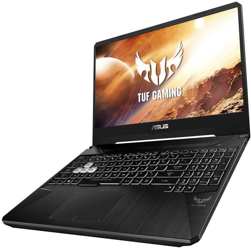 "Asus TUF VR Ready Gaming Laptop FX505DD 2019 Flagship, 15.6"" Full HD Display, AMD Quad-Core Ryzen 5 3550H, 8GB DDR4, 256GB SSD, GeForce GTX 1050 Backlit Keyboard Bluetooth WiFi HDMI Win 10"