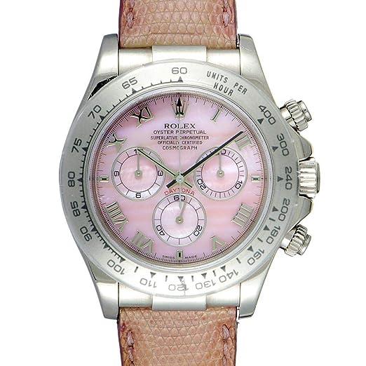 Rolex Daytona Automatic-Self-Wind 116519 - Reloj de Pulsera para Mujer (con