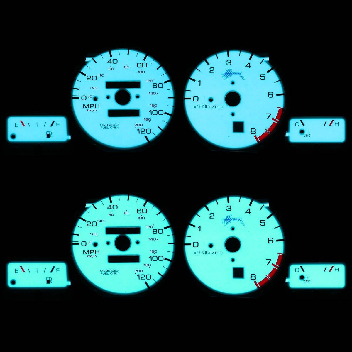 For Nissan Altima Indiglo Reverse Glow Gauge - U13 Auto Dynasty