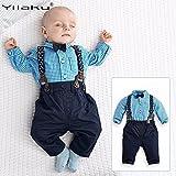 Yilaku Toddler Boys Outfits Suit Infant Clothing