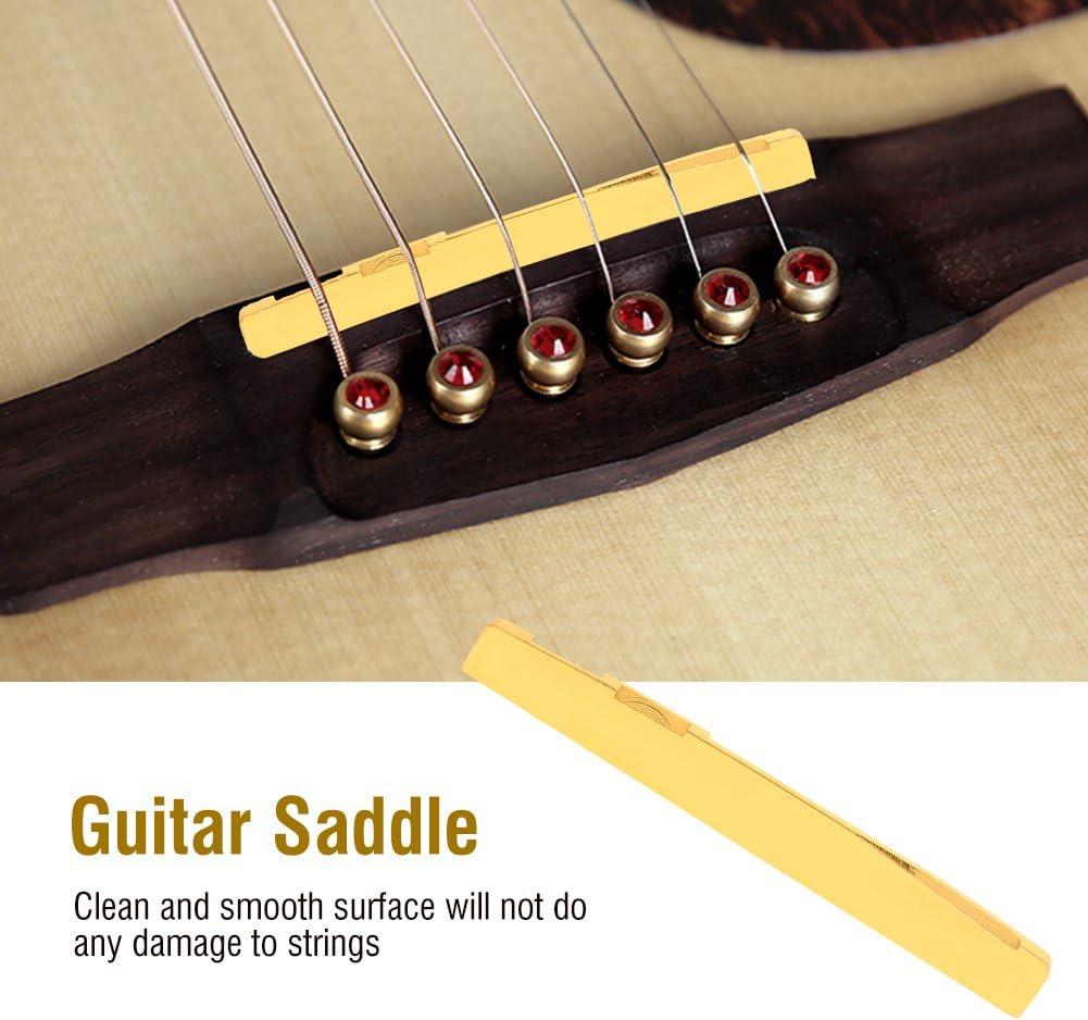 Konzertgitarre 6 String-Brücke Knochen Sattel und Nuss NEU