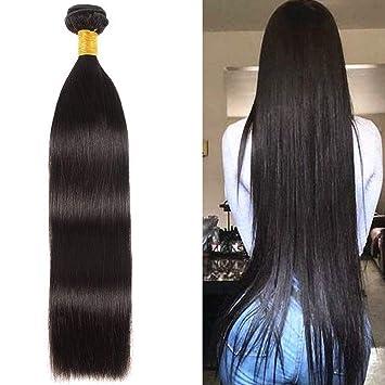 Amazon Com Newness Peruvian Virgin Hair Straight Single Bundle 30 Inch 10a 100 Virgin Human Hair Weave Long Length Natural Color 1 Bundle Beauty