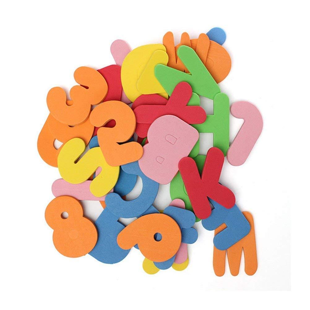 ポリマートイ バスフォーム文字と数字教育玩具 36個   B07JB7C4P6
