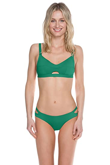 964f95c6a1db0 Amazon.com  Becca by Rebecca Virtue Women s Color Code Classic Bikini Top   Becca by Rebecca Virtue  Clothing