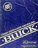 1990 Buick Riviera & Reatta Repair Shop Manual Original