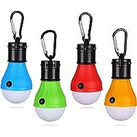Yizhet 4-pack tält LED-lampa campinglykta lampa nödlampa vattentät bärbar glödlampa för utomhusvandring/fiske/jakt…