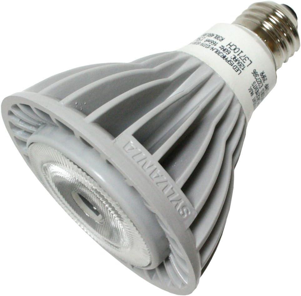 LED15PAR30LN//DIM//827//NFL25 PAR30LN Long Neck Flood LED Light Bulb Sylvania 78655