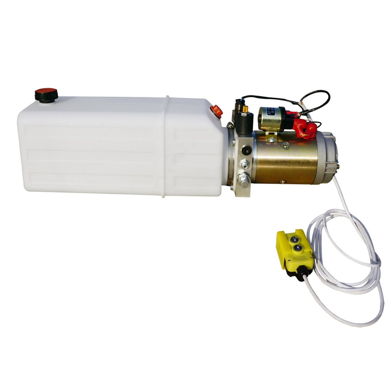 ECO-WORTHY 8 Quart 12 Volt Hydraulic Pump Power Unit Supply 3200 PSI w/ Controller Lift