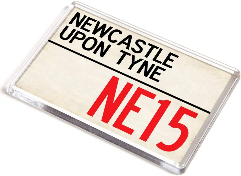 C/ódigo postal del Reino Unido Im/án JUMBO Newcastle upon Tyne NE15