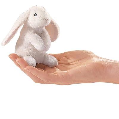 Folkmanis Mini Lop Earred Rabbit Finger Puppet
