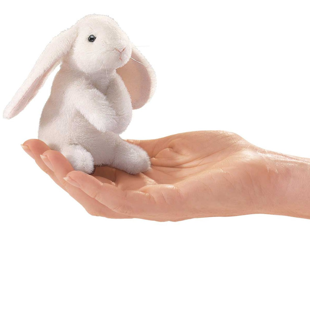Folkmanis Mini Lop Earred Rabbit Finger Puppet Folkmanis Puppets 2745