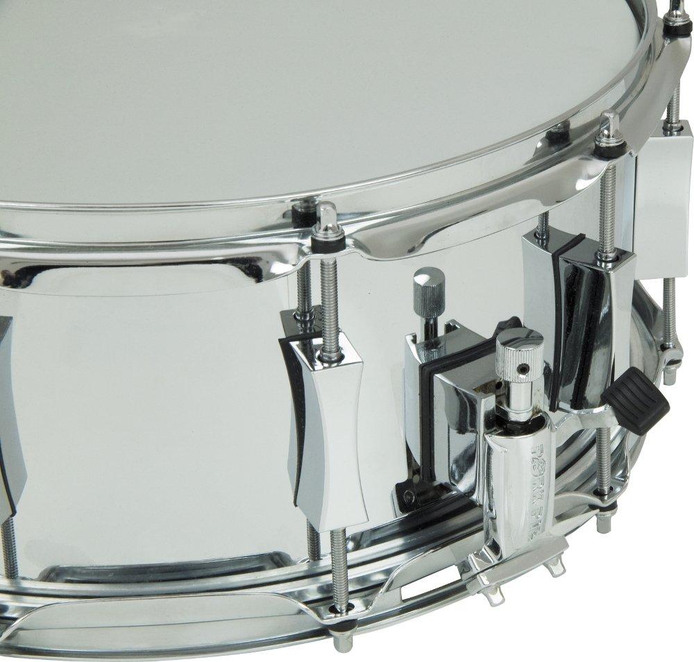 Pork Pie Little Squealer Steel Snare Drum 13 x 6 in. by Pork Pie (Image #2)