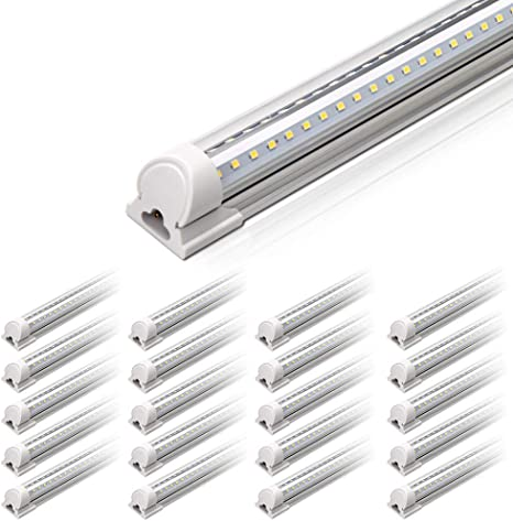 Barrina 4ft Led Shop Light 40w 5000lm 5000k 100 000lumens