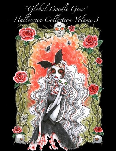 Halloween Collection 3: Halloween Adult Coloring Book (Global Doodle Gems Halloween Collection) (Volume 3)