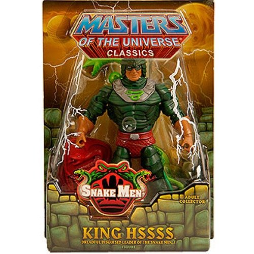 - HeMan Masters of the Universe Classics Exclusive Action Figure King Hssss