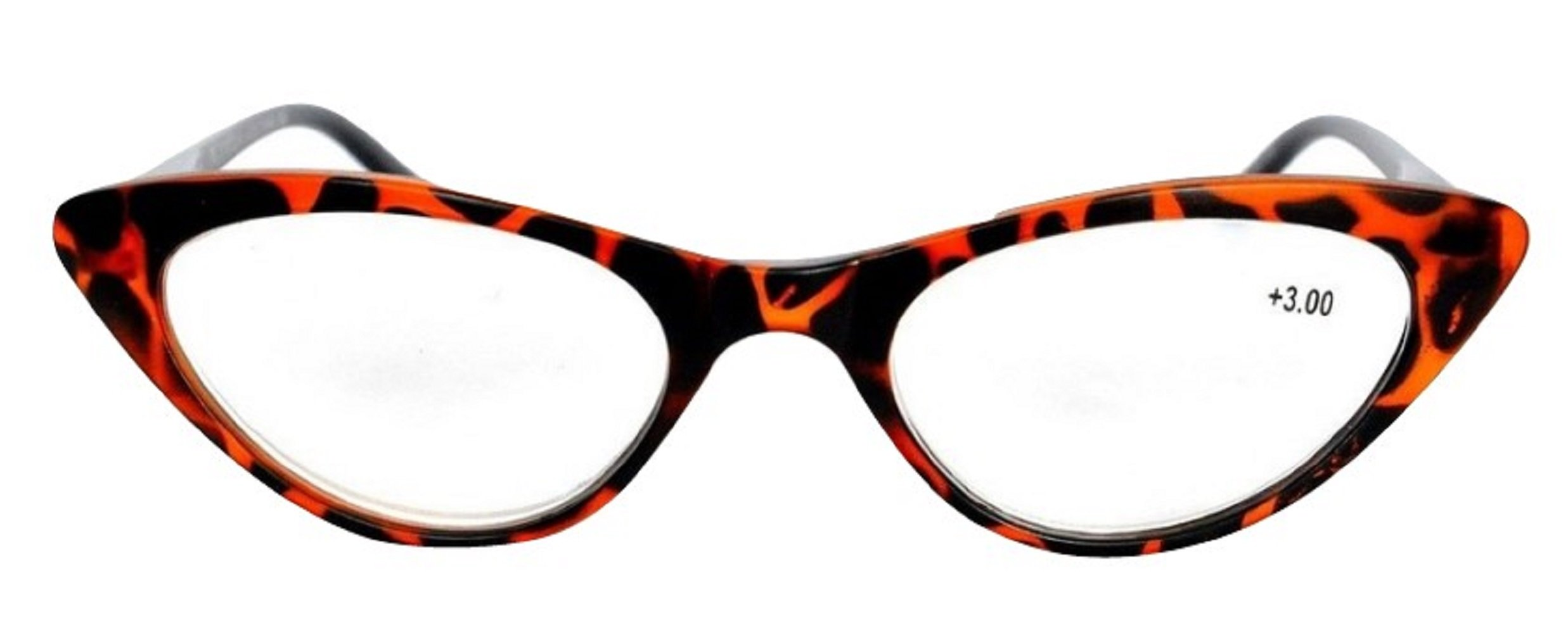 fff345b7321 Amazon.com  The Cat s Meow Colorful Ladies Cat Eye Reading Glasses ...