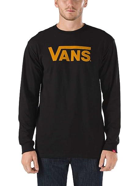 Vans Vans Classic-Camiseta Hombre,, Negro, XS