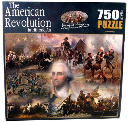 American History The Revolutionary War in Historic Art Jigsaw Puzzle (Social Studies Puzzles)