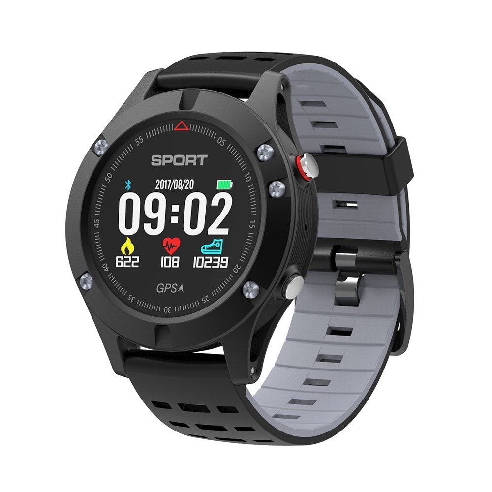 STOGA Smart Watch Fitness Tracker, 1.3 inch OLED Display Touchscreen, Waterproof Outdoors Sport Watch for iOS and Android, Heart Rate Monitor/Altimeter/Pedometer