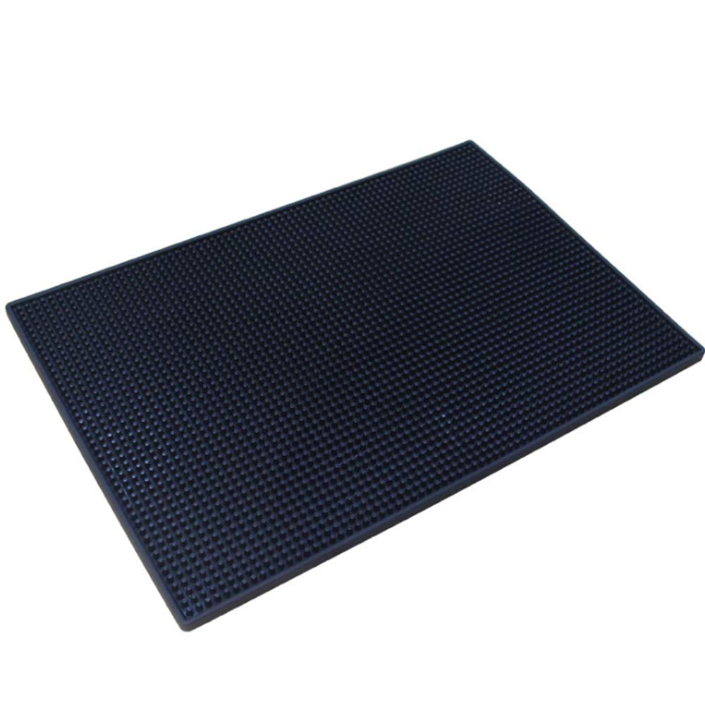 Bar Mat/Pvc Rubber Mat Thick Rectangular Bar Mat Non-Slip Filter Pad Water Pad - Heat-Resistant Frost Resistance/Suitable for Bars and Other Places