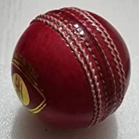 Sprint - Leather Cricket Ball 4pc 156gm Set of 2 Balls for Tournament Matches (40-50 Overs) Cork Balls